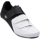 PEARL iZUMi Select Road V5 - Chaussures Homme - blanc/noir